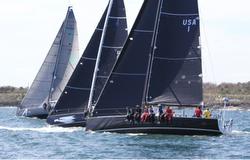 J/121s sailing off Newport