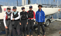 J/70 Santa Barbara Youth team