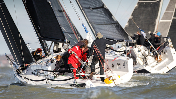 Hamble Winter Series VII Finale