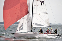 J/70 sailing AYC Fall series