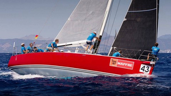 J/133 Jivaro sailing off Malta