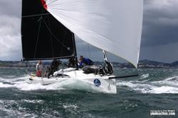 J/88 sailing J/Cup UK