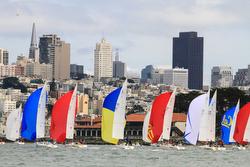 J/105 sailing San Francisco