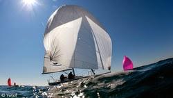 J/80s sailing EDHEC