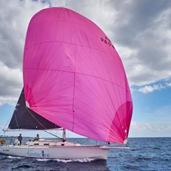 J/120 sailing Trans-Atlantic RORC Race