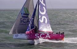 Team SCA sailing Round Britain Race