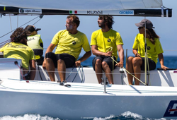 Claudia Rossi's Petite Terrible sailing team