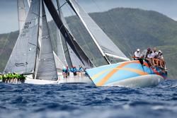 J/122 sailing Antigua Sailing week
