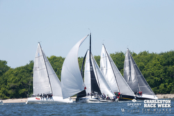 J/111s sailing at Charleston Race Week