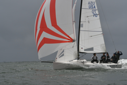 J/70 youth team off Newport Beach, CA