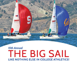 J/22 Big Sail- Stanford versus UC Berkeley