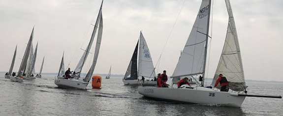 J/80 Frostbite Cup Ends On Calm Note