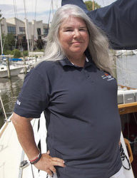 J/110 sailor Lynn McCaskey wins Bermuda Race!