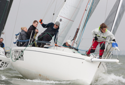 J/92 sailing Hamble winter series