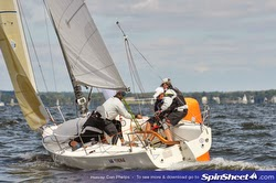 J/80 sailing at North Americans- Annapolis, MD