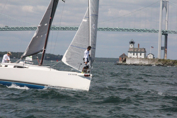 J/111 Odyssey starting Ida Lewis Race with Youth Challenge