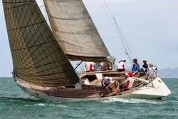 J/41 Souay 1 sailing Pataya, Thailand