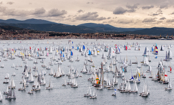 Barcolana Regatta starting line 2015