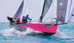 J/88 sailing Key West Race Week