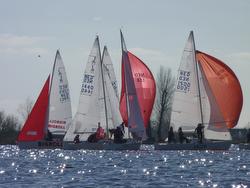 J/22s sailing Brassermermeer lake
