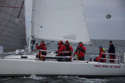 J/105 Free Bowl of Soup- sailing Oregon Offshore Race