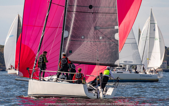 J/88 sailing college regatta