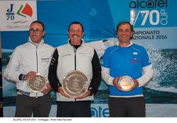 Carlo Alberini's Calvi Network J/70 Alcatel Team