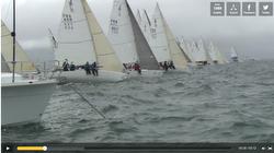 J/80 sailing video- SPI Ouest France