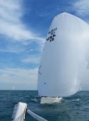 J/88s sailing Chicago Bi-State Race