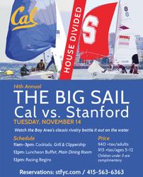 The Big Sail on J/22s at St Francis YC