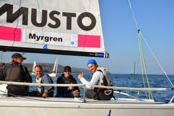 J/70s sailing Swedish Master of Masters Regatta