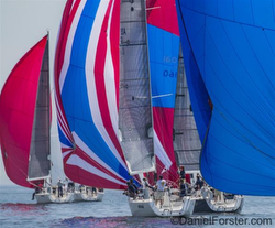 J/109s sailing Cedar Point regatta