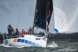J/111 sailing Van Uden Reco regatta- Netherlands