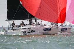 J/109 sailing Cowes