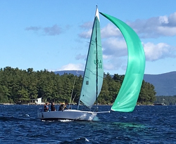 J/80 sailing J/Jamboree in New Hampshire