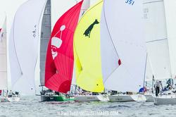 J/105s sailing off Annapolis