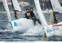 J/70s sailing Alcatel OneTouch regatta in Italy
