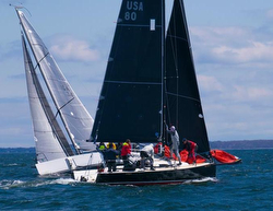 J/88 Wings sailing AYC Spring series