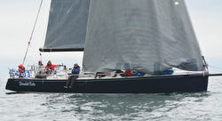 J/145 sailing Swiftsure Race