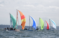 J/70s sailing Sunday