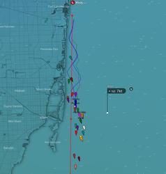Lauderdale Key West Race tracker