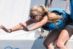 J/70 woman crew on Dutch sailing league team
