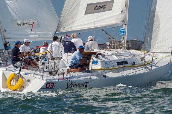 J/105 sailing Masters Regatta in San Diego, CA
