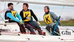 J/80 sailors- Queen Mary Sailing Club- Heathrow, England