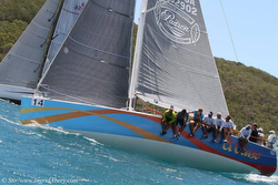 J/122 sailing St Thomas