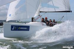J/70 sailing J/Cup England
