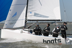 J/70 boats.com sailing Warsash Spring series