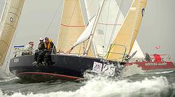 J/105 sailing at Block Island Race Week