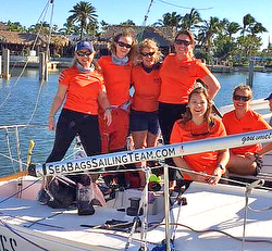 J/24 Women's Sea Bags Sailing Team
