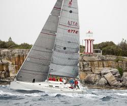 J/122 Jackpot sailing off Sydney, Australia